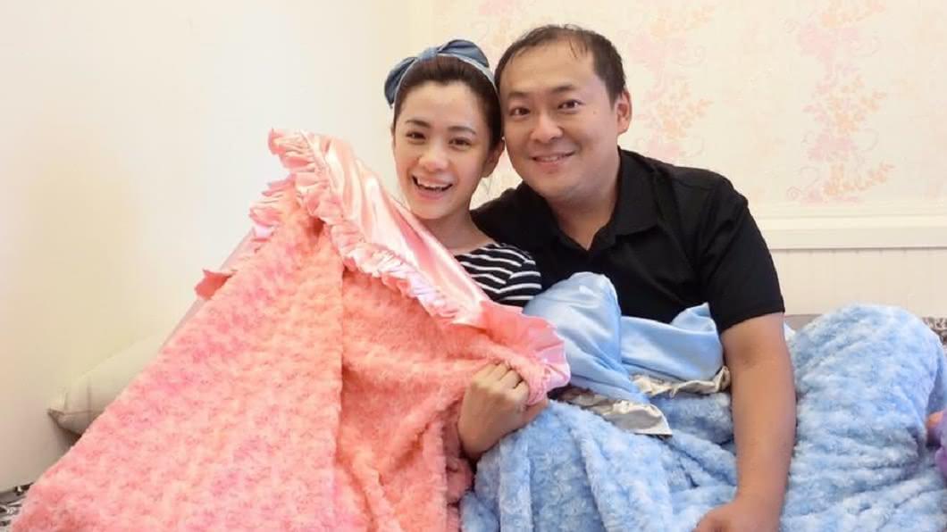 柯以柔2011年嫁給廚師老公郭宗坤。圖/翻攝自柯以柔臉書 拖了1年!柯以柔掰了腥夫郭宗坤 勝訴獲賠40萬