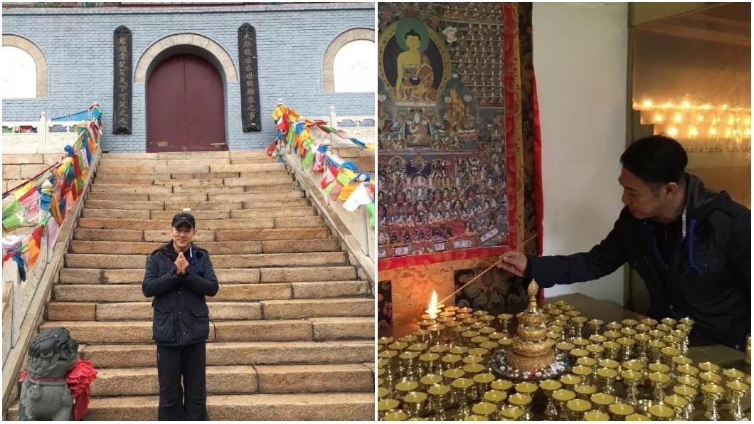 李連杰篤信佛教多年,希望能夠利用自己的影響力幫助更多的人。圖/翻攝自李連杰微博