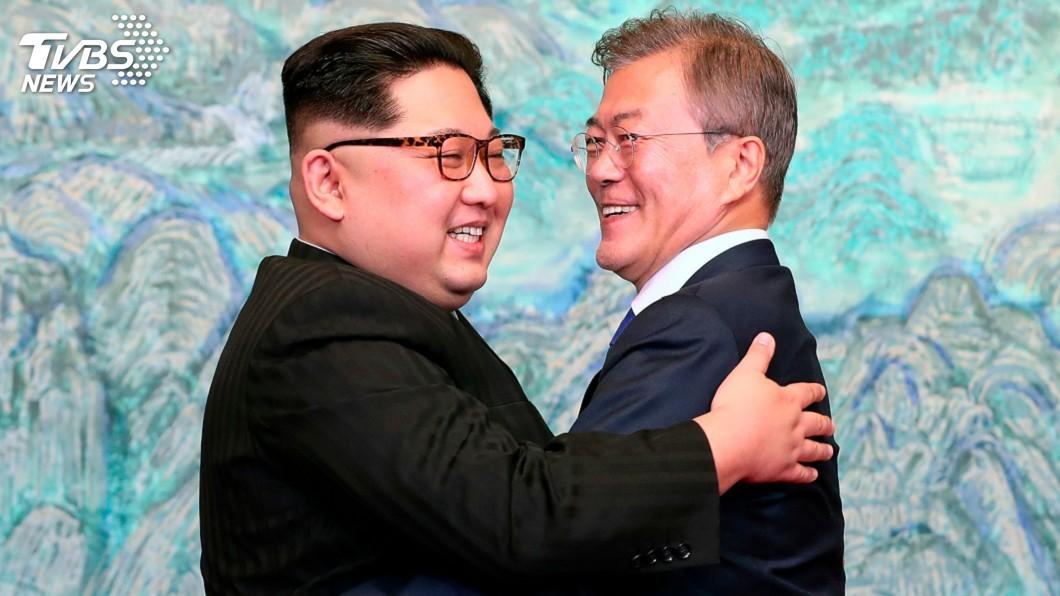 圖/達志影像美聯社 川金會喊卡 南韓統一部:竭力改善兩韓關係