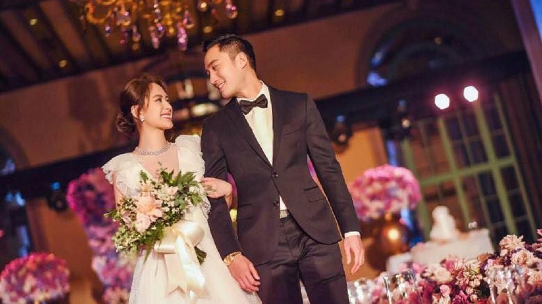 圖/Facebook 恭喜!情定醫界王陽明 TWINS阿嬌洛杉磯出嫁