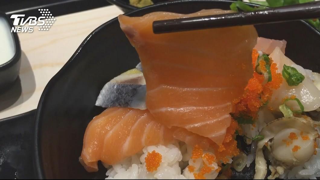 海鮮丼示意圖。圖/TVBS 吃海鮮丼腹瀉拉血便 出現這6症狀別懷疑快就醫