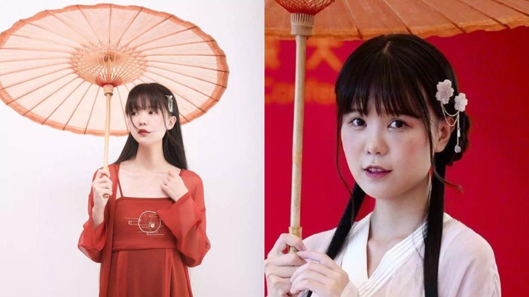 左圖為黃喬恩微博上照片,右圖為網友起底照。圖/翻攝自微博