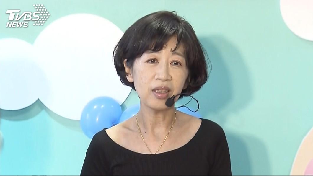 台北市長妻子陳佩琪不滿政論節目汙衊,揚言提告。圖/TVBS