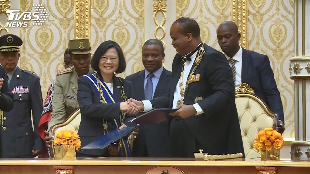 圖/TVBS資料畫面 非洲唯一邦交國「史瓦帝尼」 陸放話:期待快建交
