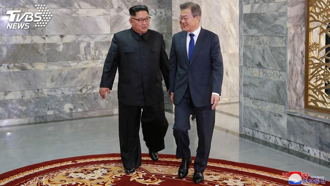 圖/達志影像路透社 爭取民眾支持 北韓官媒大幅報導文金會