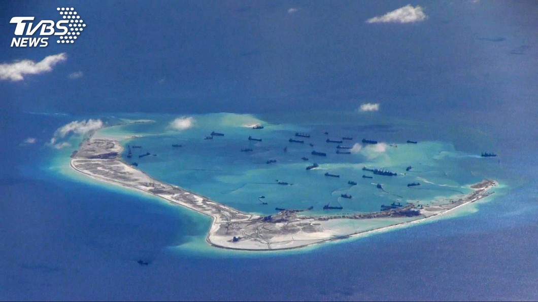 圖/達志影像路透社 中國在南海強勢 學者:嚴重影響區域安全