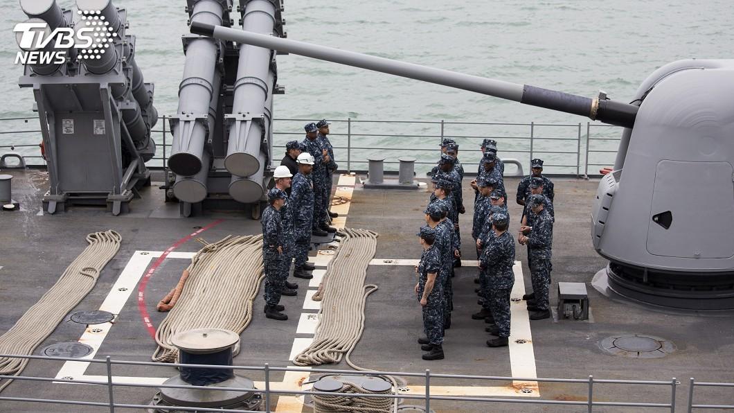圖/達志影像路透社 美艦入西沙 中國國防部外交部齊指挑釁