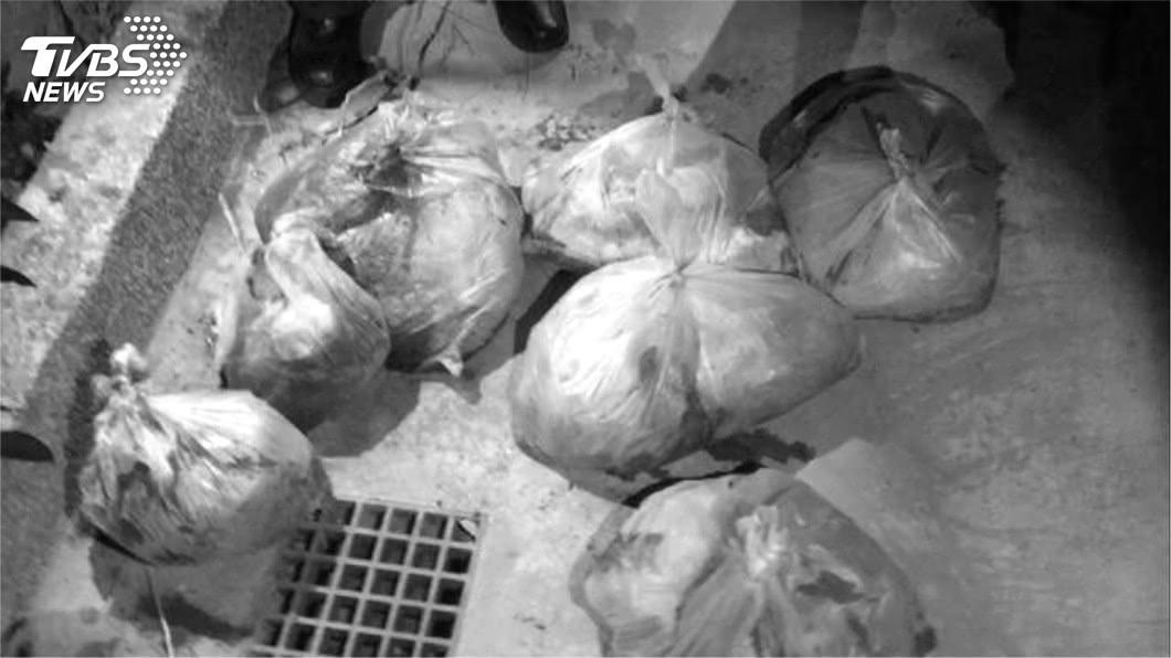 不少住戶受驚嚇,表示棄屍現場就在自家社區。圖/TVBS