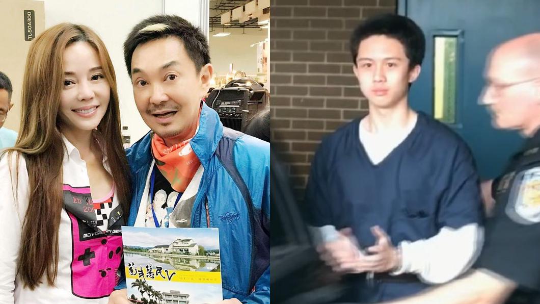 圖/翻攝自狄鶯臉書(左)、TVBS(右) 憂孫安佐回來「扛不住」 狄鶯好友:台灣變了