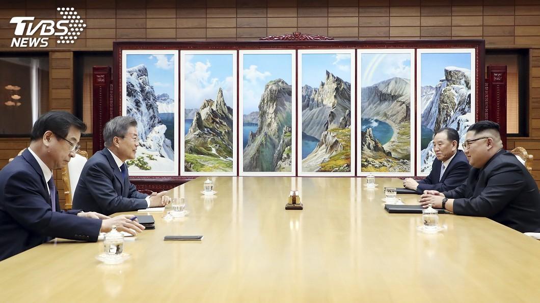 圖/達志影像美聯社 在野黨反對 南韓國會未認可板門店宣言
