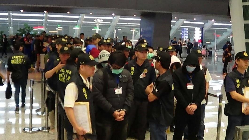 圖/警方提供 歐洲跨境詐騙2.3億元 苗檢首波起訴33人
