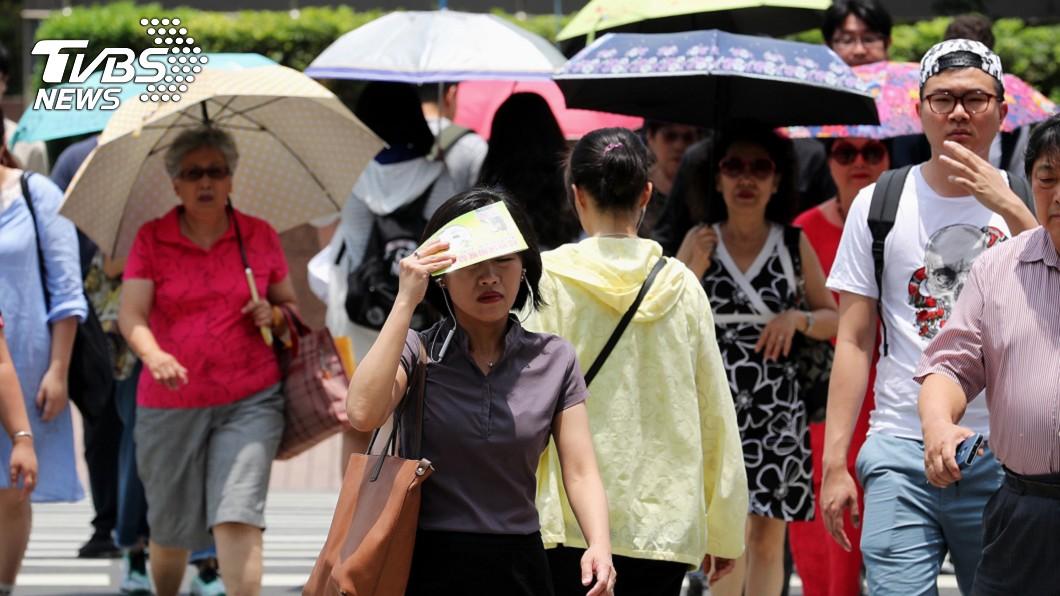 圖/中央社 梅雨不來!西南季風大爆發 歐美預測:恐有雙颱夾心襲台