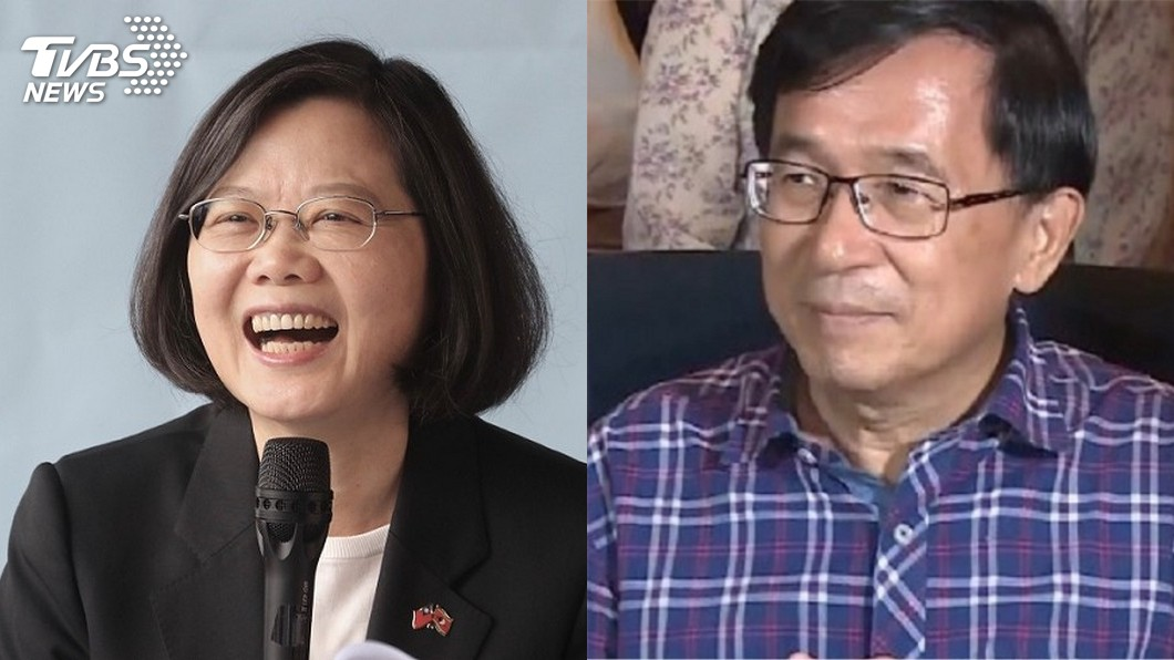 圖/中央社、TVBS 年輕票雪崩!小英民調破新低 扁:繼續騙自己神仙也難救