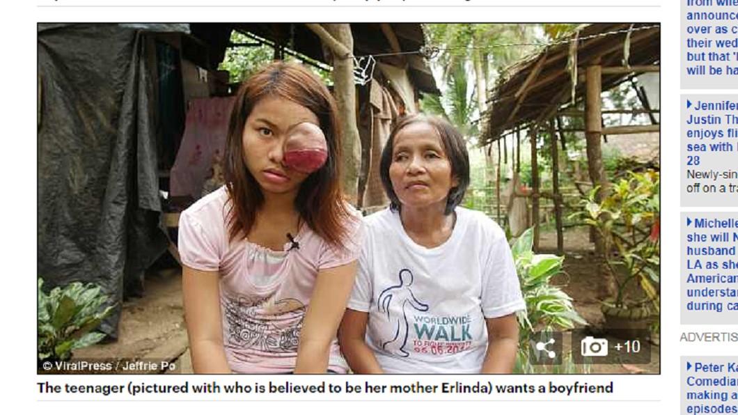 母親(圖右)盼外界援助,幫助女兒回歸正常生活。圖/翻攝自 每日郵報