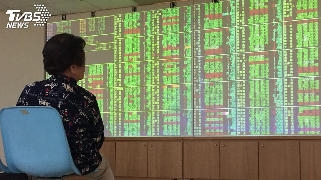圖/中央社 國際股市疲軟 台股盤中小跌