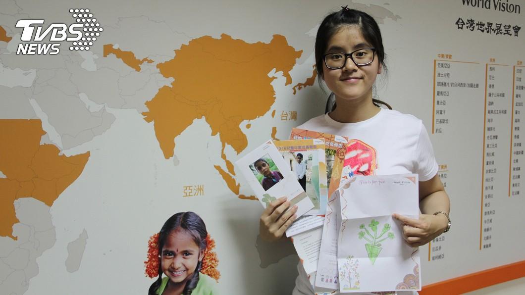 圖/中央社 年輕護理師資助印度貧童 協助追尋醫生夢