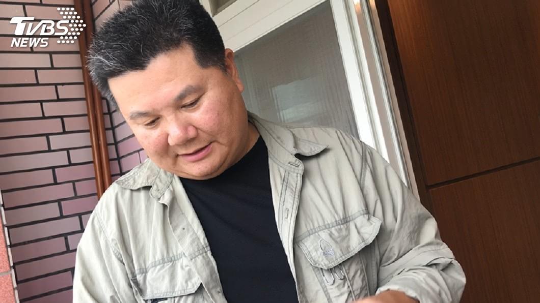 李惠仁說他會拍到不能拍為止。圖/TVBS
