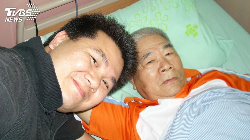 李惠仁與父親。圖/TVBS