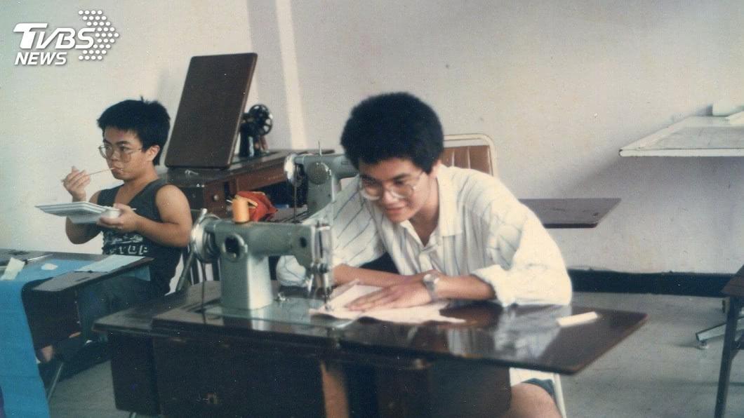 李惠仁大學就讀時尚設計系。圖/TVBS