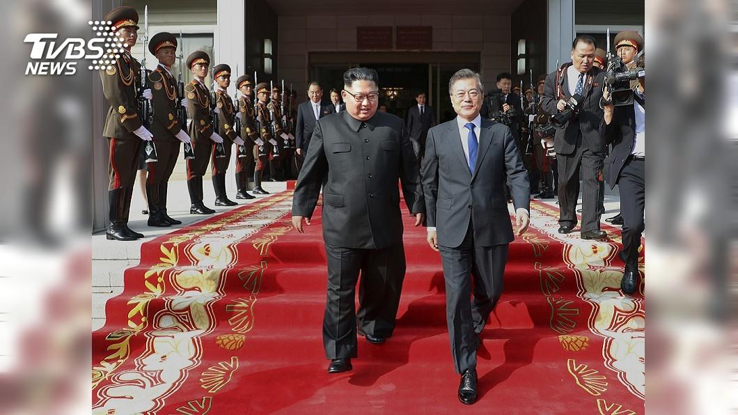 圖/達志影像美聯社 快訊/文金3度高峰會 9月預計在平壤舉行