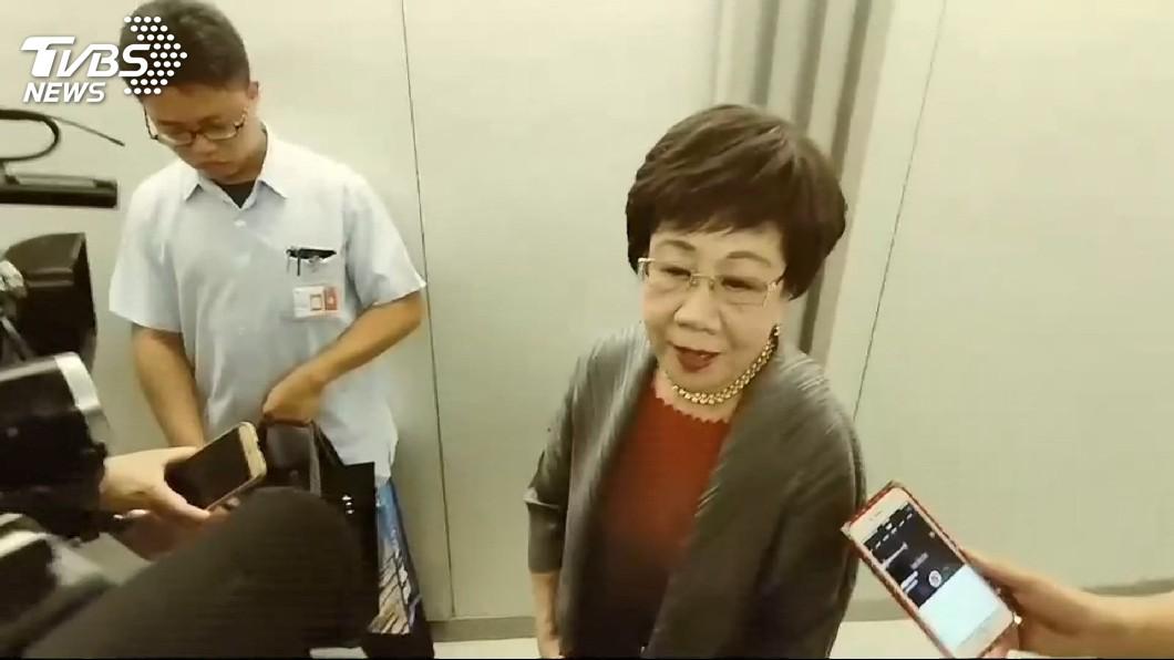圖/TVBS 真掰了民進黨!呂秀蓮嗆「跟我無關」 不排除選到底