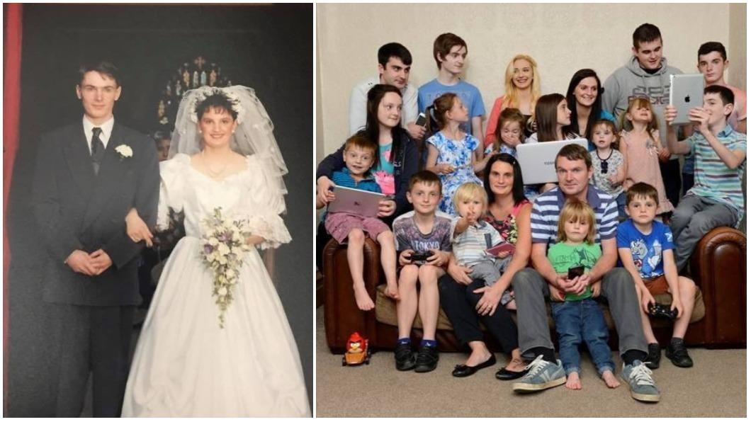 圖/翻攝自The Radford family Facebook 才宣布封肚…43歲母迎接第21個孩子 稱:小孩生上癮