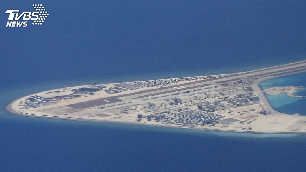 圖/達志影像美聯社 美軍警告 有能力攻破南海中國人工島