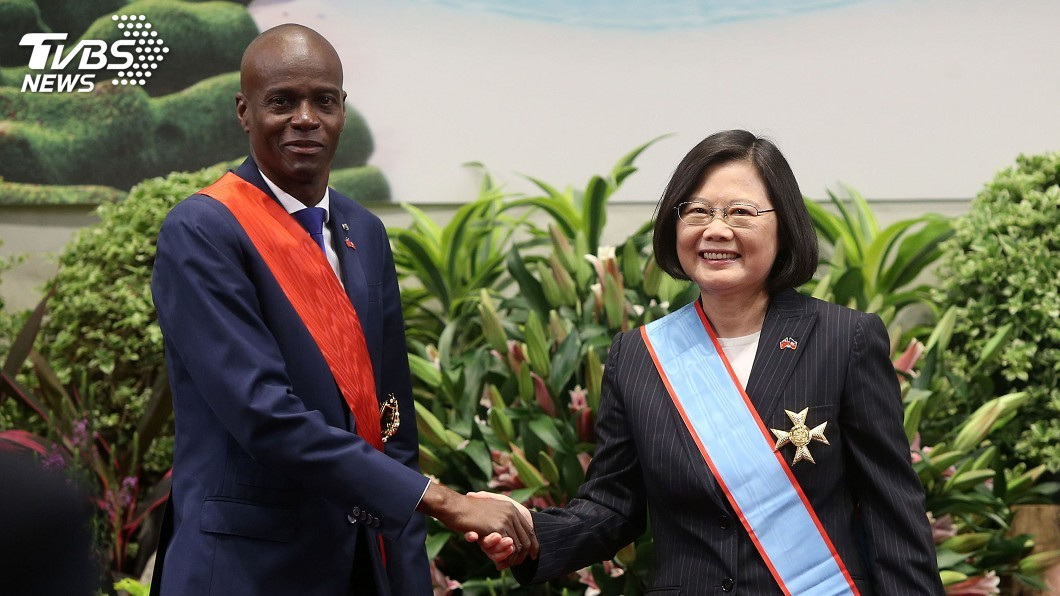 總統同意援助海地政府45億台幣建立供電系統,引起許多網友撻伐。 圖/中央社