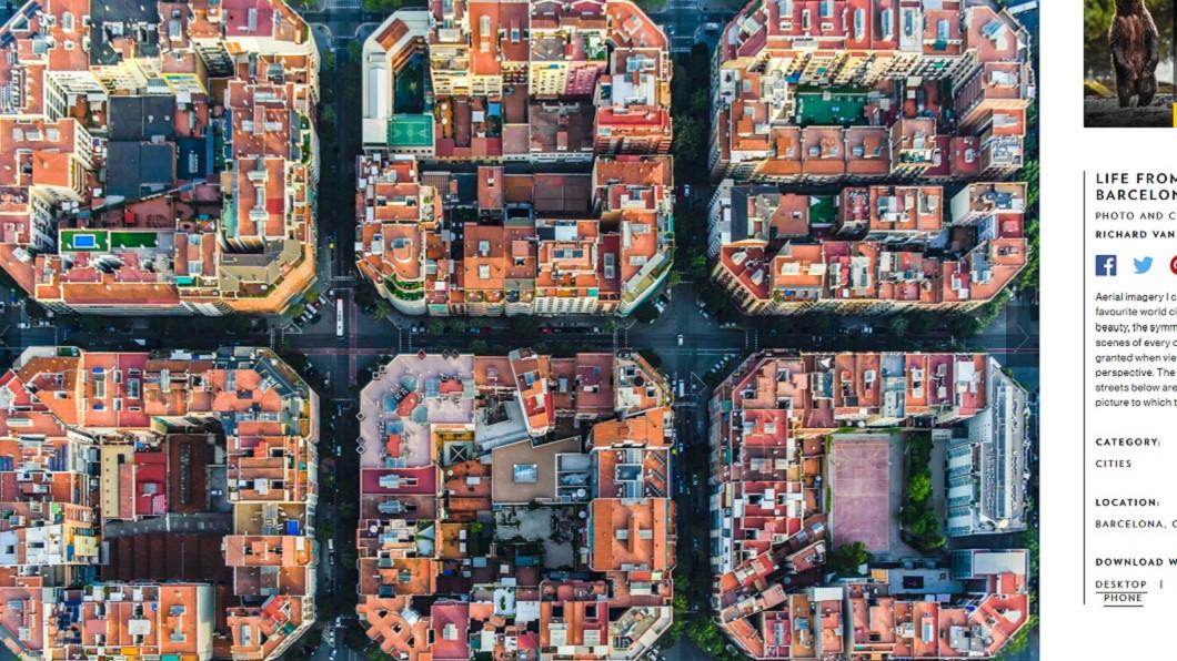 西班牙巴塞隆納。圖/翻攝自國家地理網站
