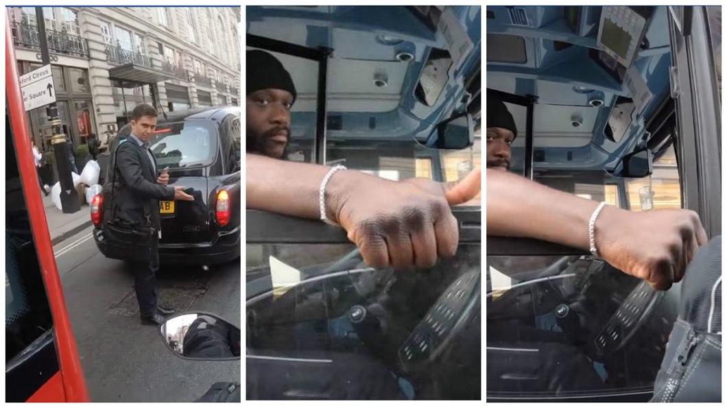 公車司機一個暖心舉動,讓網友看了直呼心情超好。(圖/合成圖,翻攝自「LADbible」臉書粉絲團) 公車司機「一個手勢」 超暖結局讓網友推爆