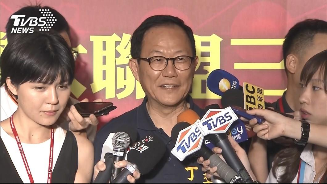 圖/TVBS 丁守中競選團隊人事 預計8月宣布