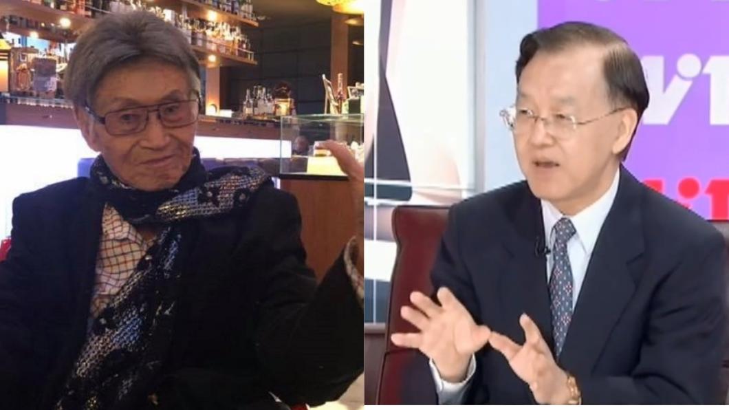 圖/傅達仁臉書、TVBS資料畫面 傅達仁死前給最後祝福 盛竹如笑回:他活夠久了