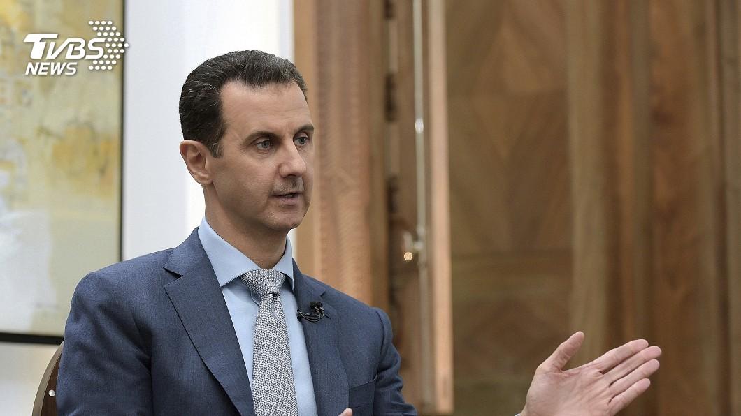敘利亞總統阿塞德。圖/達志影像美聯社 金正恩外交動作頻頻 也將見敘利亞總統