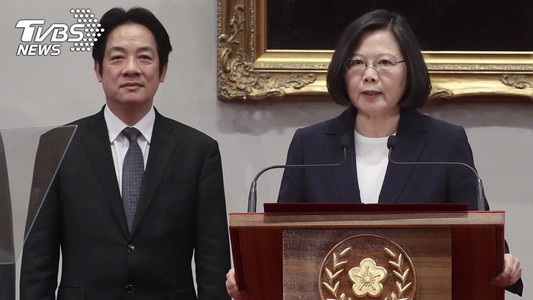 圖/TVBS資料畫面 拒深綠抬轎2020?賴清德表態挺小英連任:她是好總統