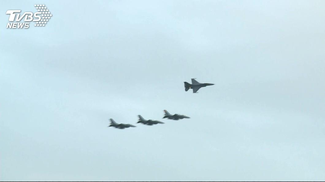 圖/TVBS F-16在空軍服役21年 150架至今掉了8架