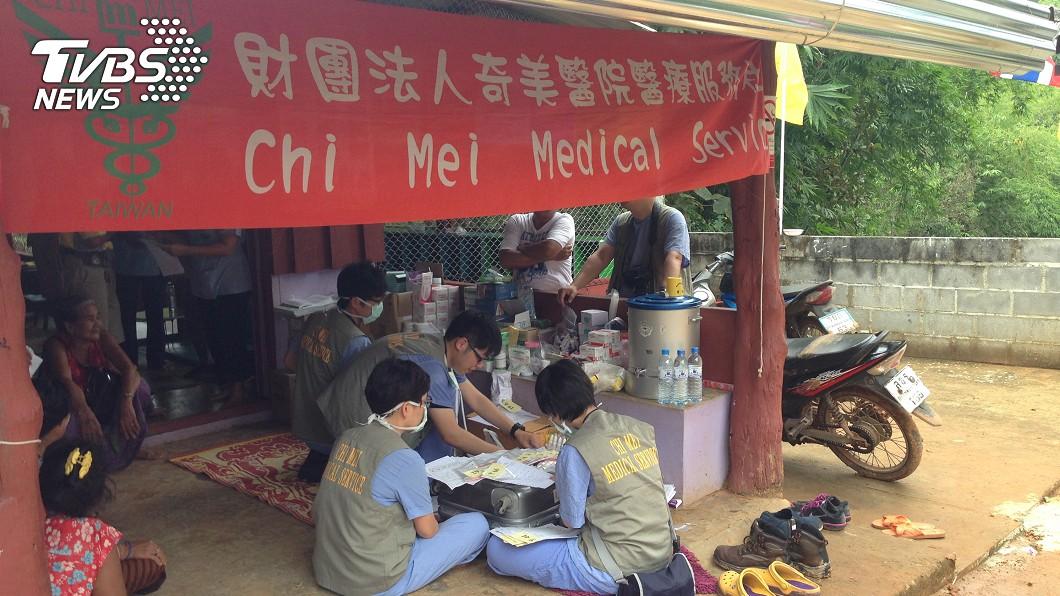 圖/奇美醫療服務社主任黃建元提供 疾病無國界 台灣醫療團深入泰緬邊境義診