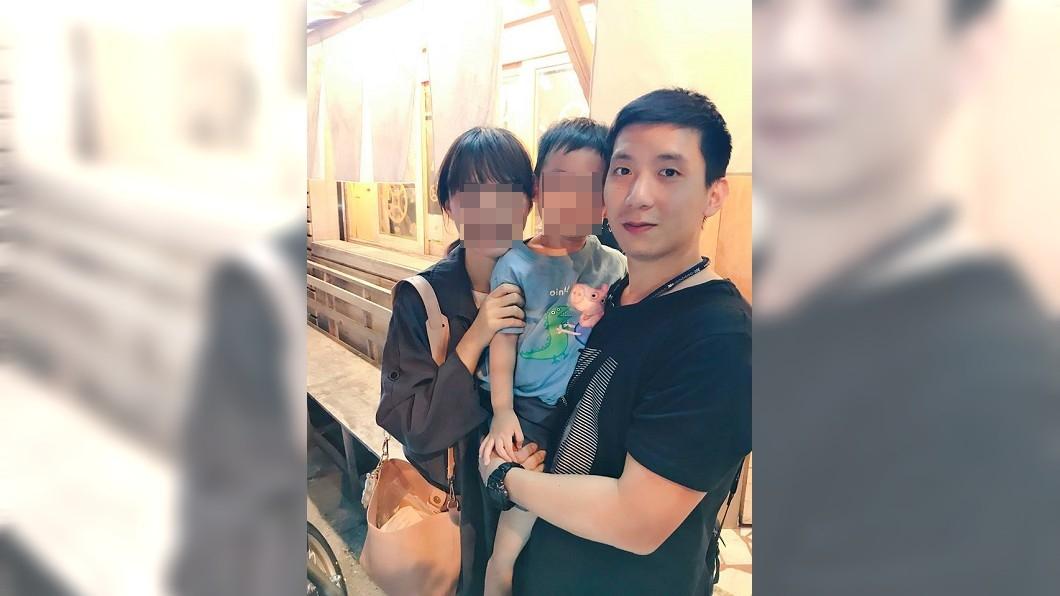 吳彥霆常在臉書PO出家人合照。圖/翻攝臉書 爸爸愛你...殉職飛官臉書告白 「兒子對不起」引淚崩