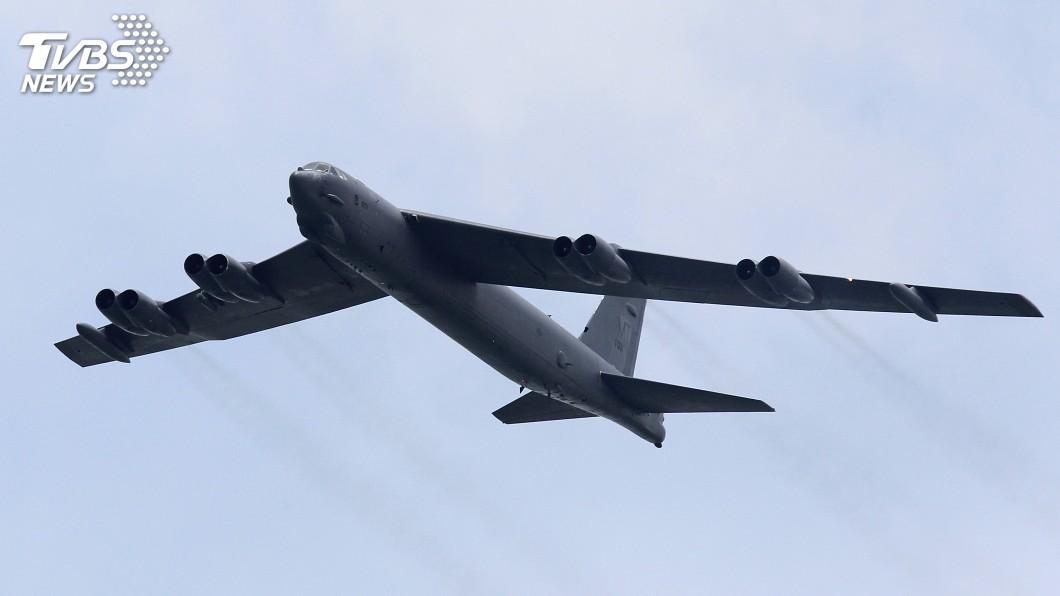 圖/達志影像路透社 南海角力 美B-52轟炸機飛近南沙群島