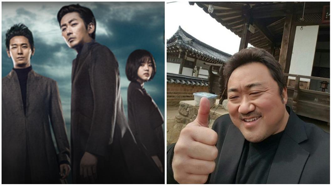 圖/采昌亞洲電影世界Cai Chang Asia (左)、馬東錫IG (右) 《與神2》8月上映 陰間使者槓屍速「最強老公」
