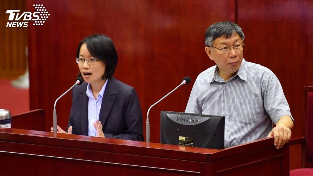 圖/中央社 藍黨團擬邀吳音寧赴立院 柯文哲:無法解決問題