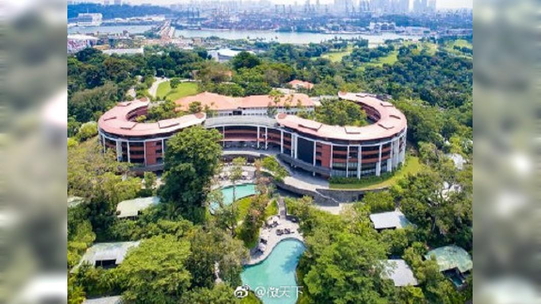 圖/微天下微博 確定了! 川金會將在新加坡嘉佩樂酒店舉行