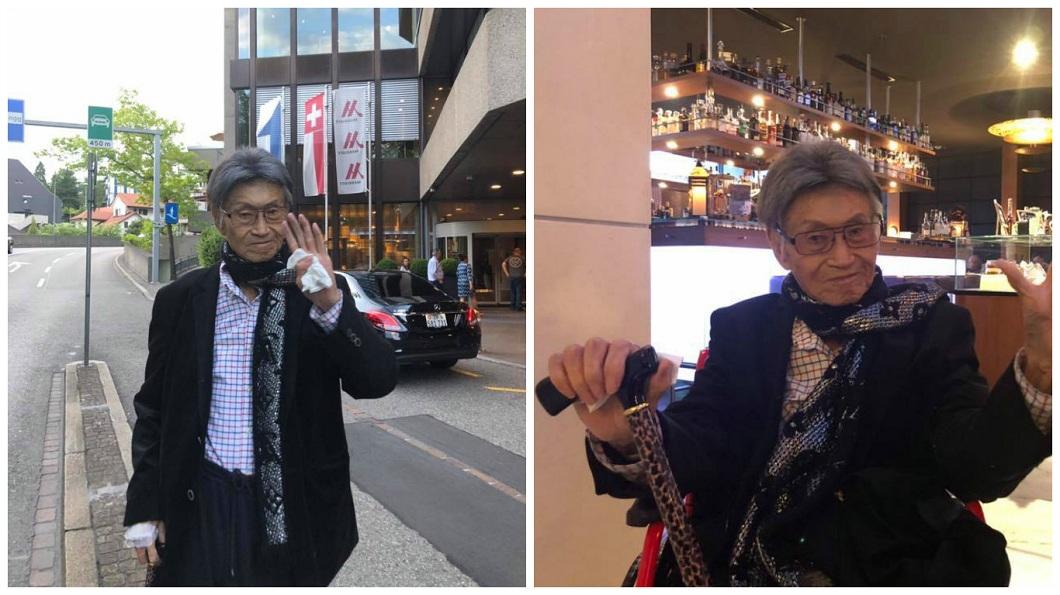 前資深體育主播傅達仁將在台灣時間7日下午5點進行安樂死。(圖/翻攝自臉書) 日喝4次嗎啡「站著睡著」 傅達仁:折騰死