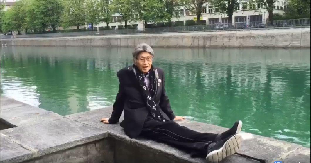 圖/傅達仁臉書 「明天我就到站了…」傅達仁最後2分鐘影片告白