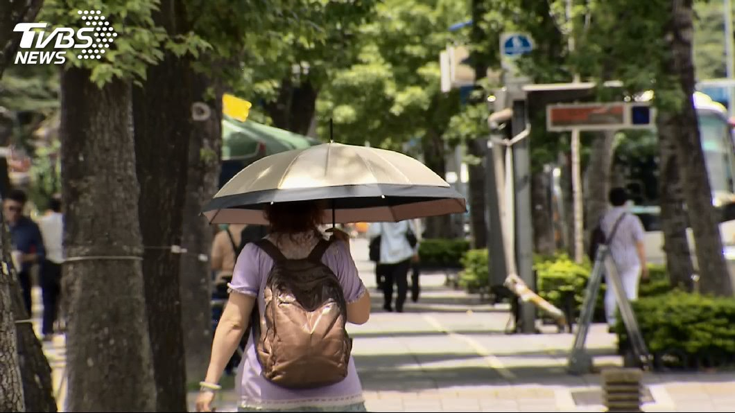 (示意圖/TVBS資料畫面) 秋老虎發威!13縣市明高溫特報 週末鋒面通過雨彈來襲