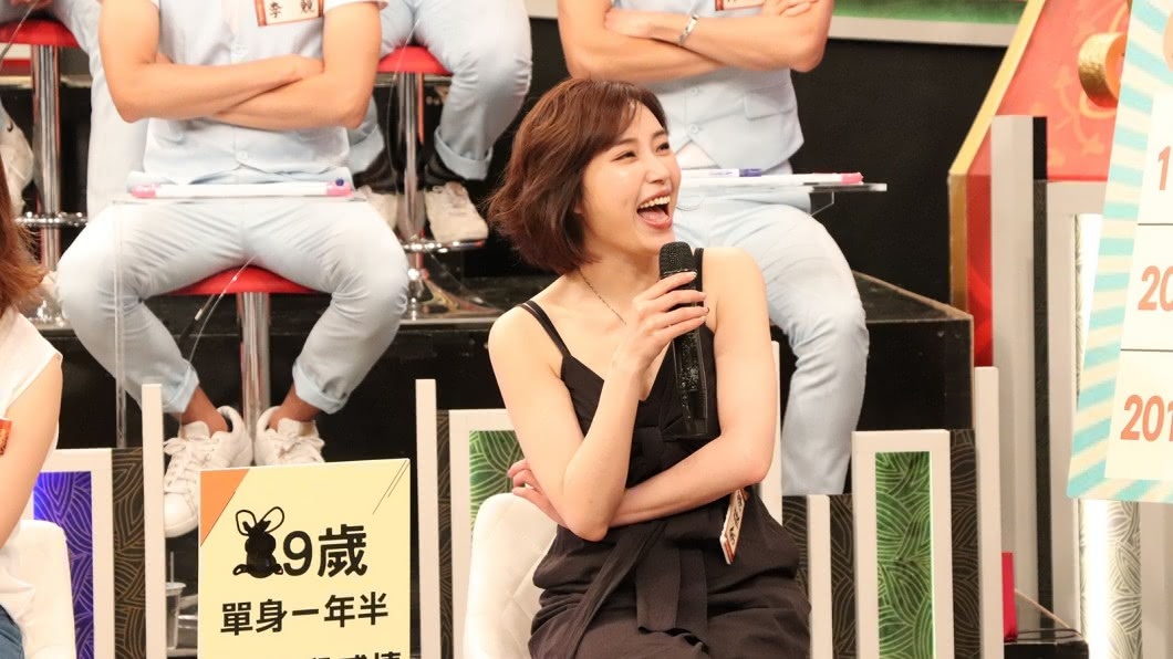 圖/中天提供 這輩子不再碰政治!余筱萍回演藝圈 自爆相親綠營政二代