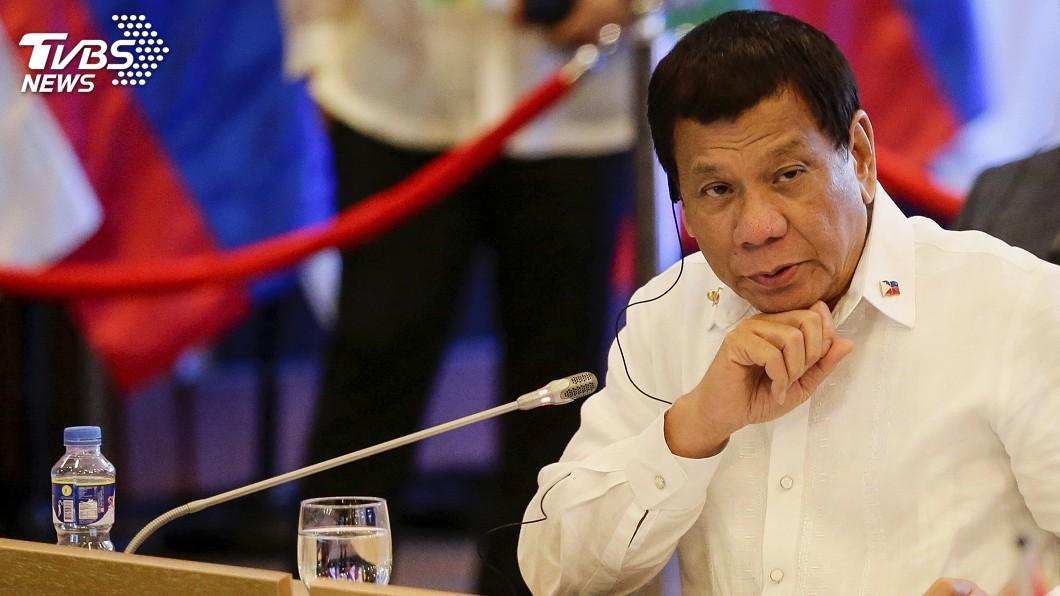 圖/達志影像美聯社 菲律賓治安差投資人卻步 杜特蒂將採極端措施