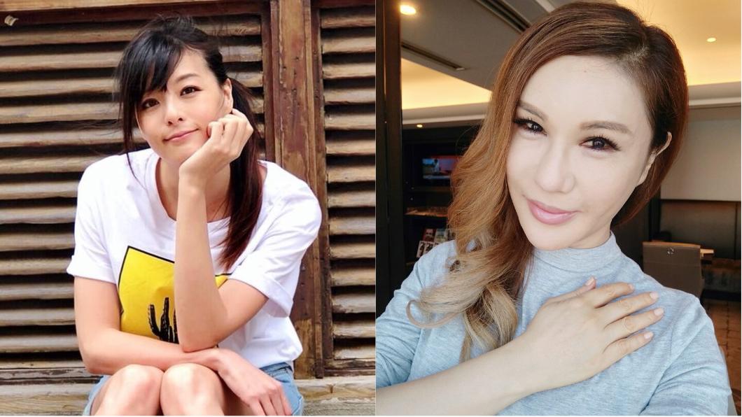 圖/翻攝自李依瑾、利菁臉書 女星自爆險遭樓上哥哥性侵 利菁竟問「他帥嗎?」