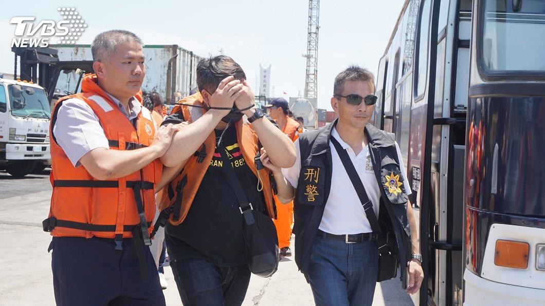 圖/中央社 金門設機房詐騙陸民 警方破獲逮23嫌