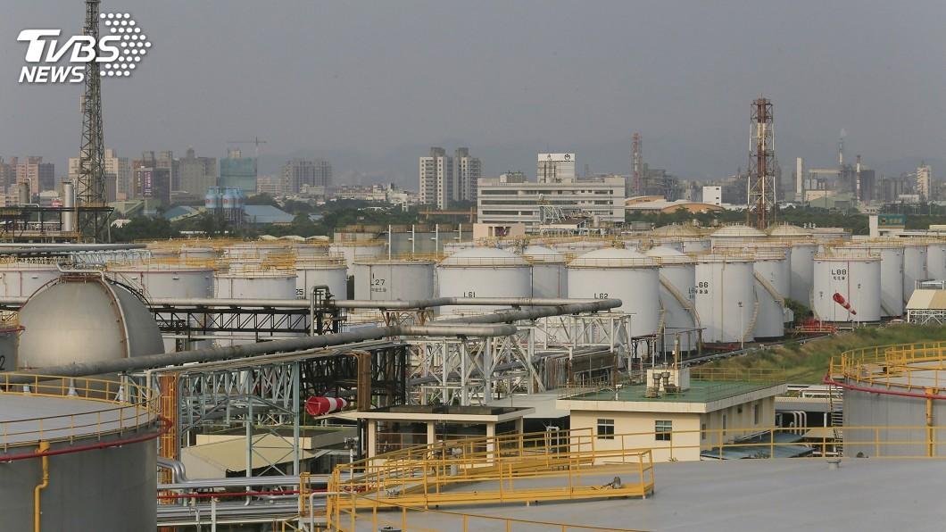 高雄煉油廠。圖/中央社資料照