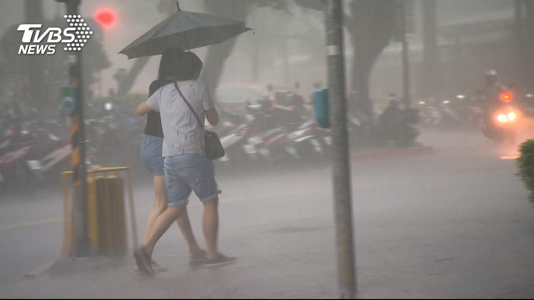 圖/TVBS 防強降雨來襲 林智堅:竹市啟動防災整備